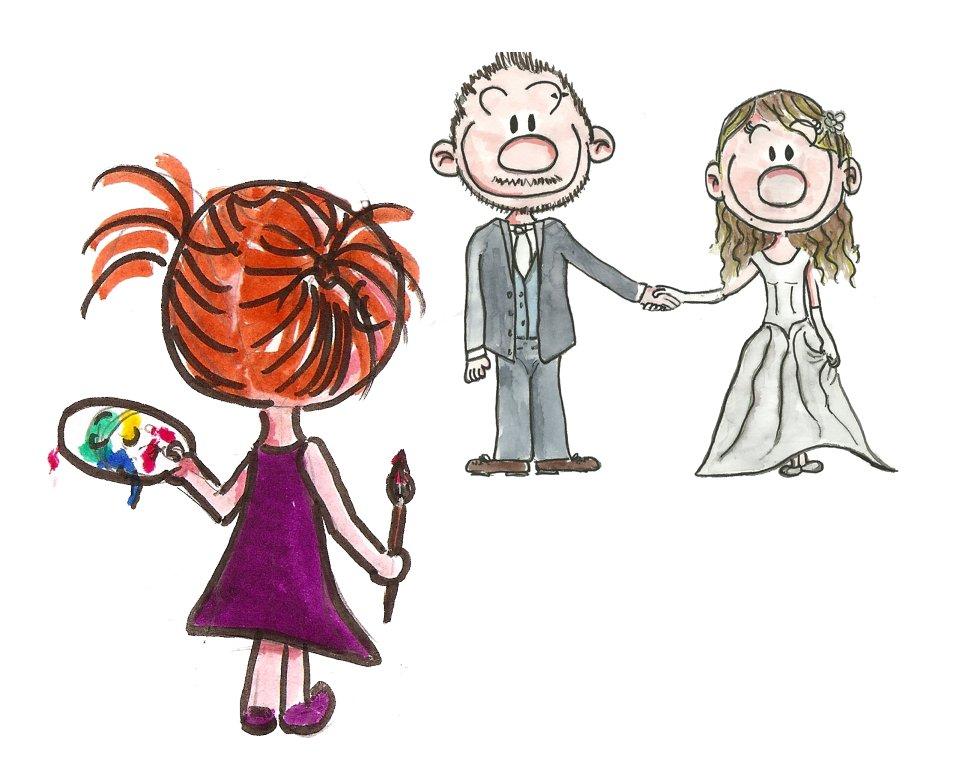 bd mariage dessin